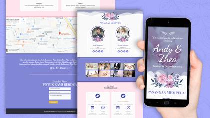 desain situs undangan