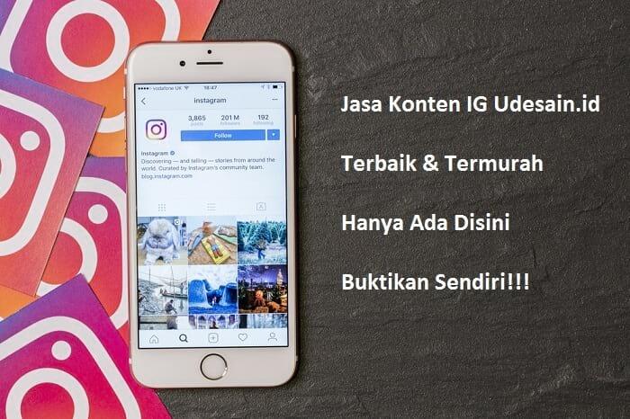 jasa desain feed instagram